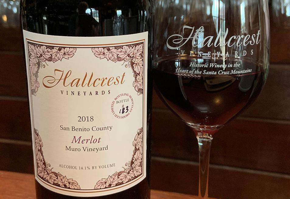 Hallcrest Wine Bottle