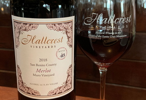 Hallcrest Wine Bottle