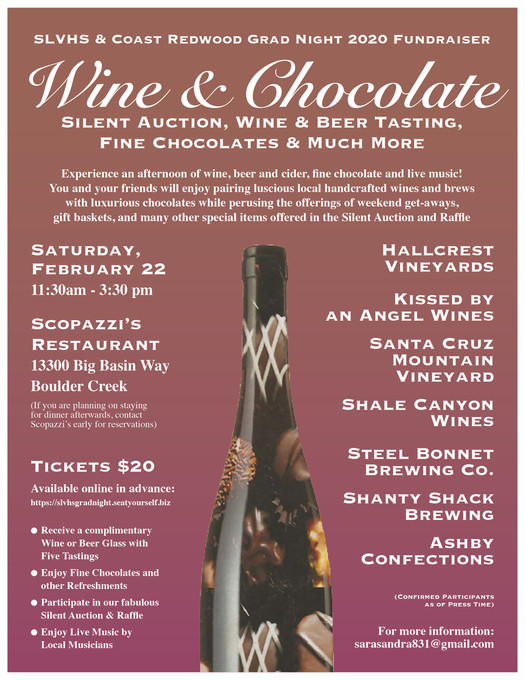 Wine and Chocolate Auction