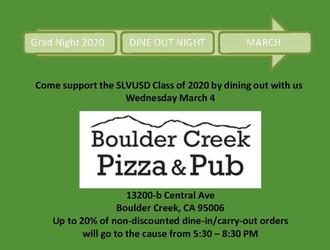 Boulder Creek Pizza and Pub
