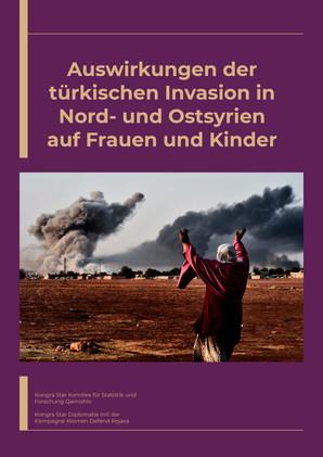 Auswirkungen der türkischen Invasion in Nord- und Ostsyrien auf Frauen und Kinder