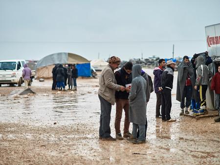 Die Lage in den Flüchtlingscamps spitzt sich zu