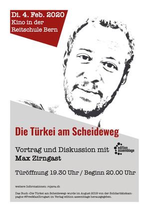 Die Türkei am Scheideweg - Vortrag und Diskussion mit Max Zirngast