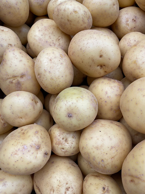 Washed White Potatoes