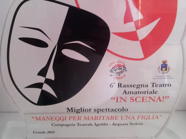 """VI Rassegna """"In scena"""" Ceriale 2015"""