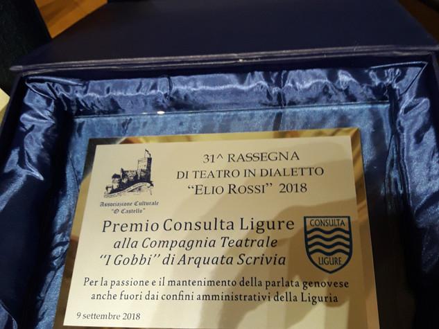 31 Rassegna teatro dialettale Elio Rossi di Chiavari