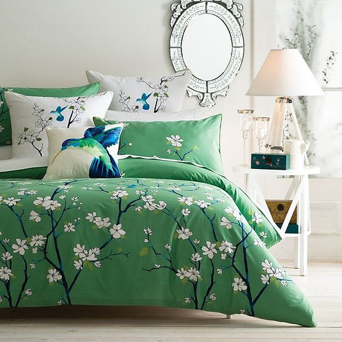 Flat bed set (Earth design)  -(تصميم إيرث )طقم ملاية سرير عادية