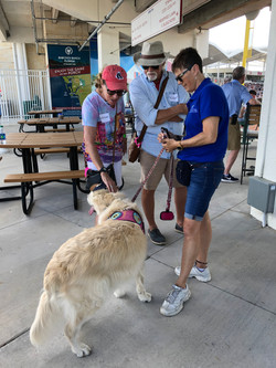 Therapy Dog Was There!