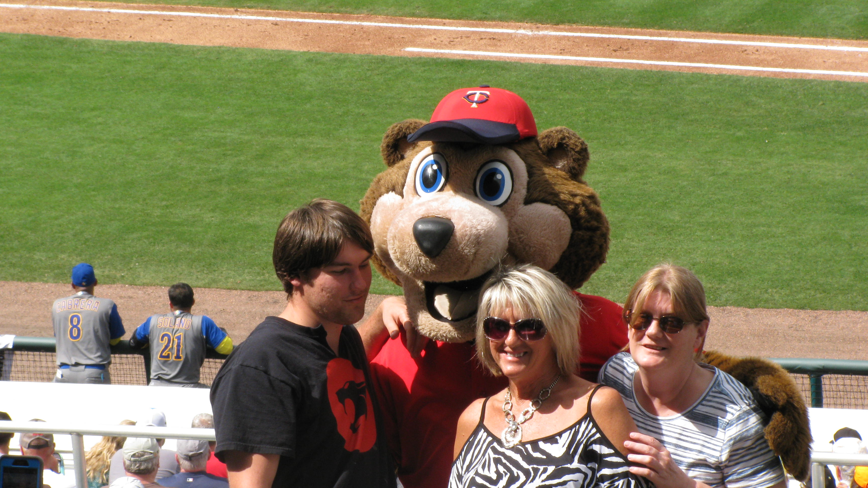 Everyone Loves the Mascot