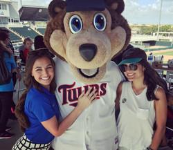 Mackenzie & Brook with TC Bear