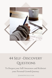 Self-discovery questions and journalling prompts for inner reflection and deepened self-awareness
