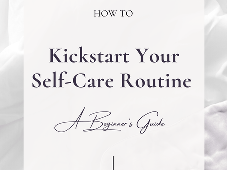 A Beginner's Guide to Self-Care