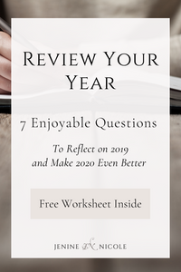 Here are 7 enjoyable end-of-year reflection questions to review the past 12 months and get ready for the new year ahead. Be sure to get your free printable worksheet at the bottom of the post.