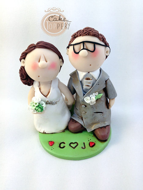 Low Budget Cake Topper