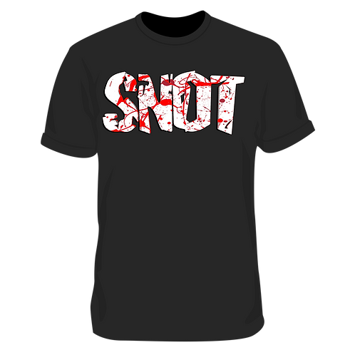 SNOT Blood Splattered Tee