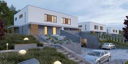 architekt projekt domów dwulokalowych bl