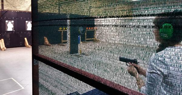 strzelanie na strzelnicy sportowej