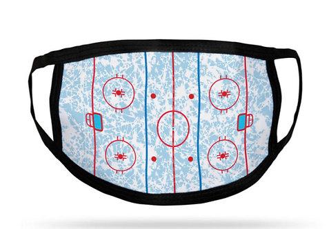 Hockey Rink Face Mask