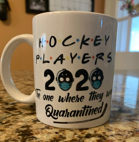 "Hockey Players 2020 "" The One Where They Quarantined """