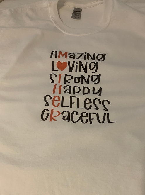 Mother's Day Tee Shirt