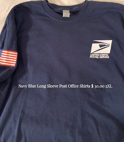 Post Office Work Shirts Long Sleeve