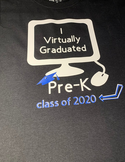 I Virtually Graduated Pre~K Class of 2020