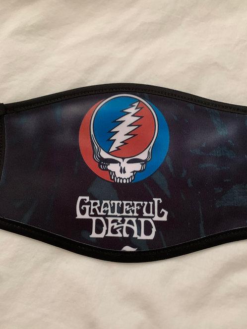 Grateful Dead ~ Face Mask ~ See Other Designs For Masks