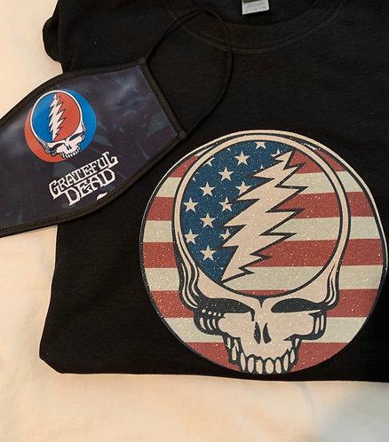 Grateful Dead Glitter Shirts