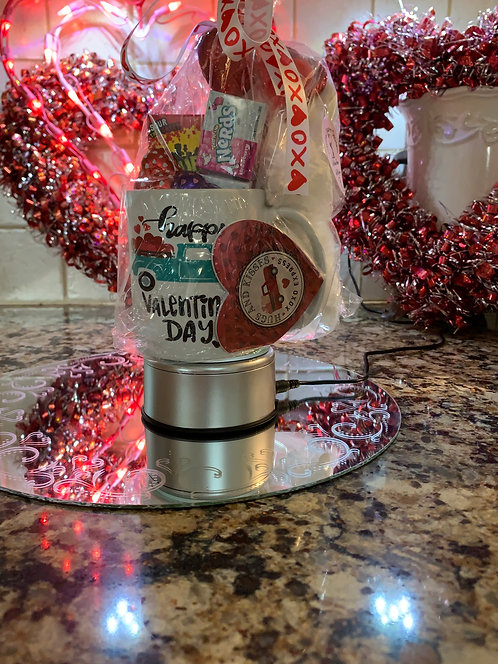 Coffee Mug Gift Basket Valentine's Day