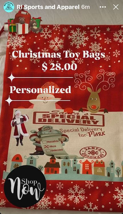 Christmas Toy Bags for The Kids