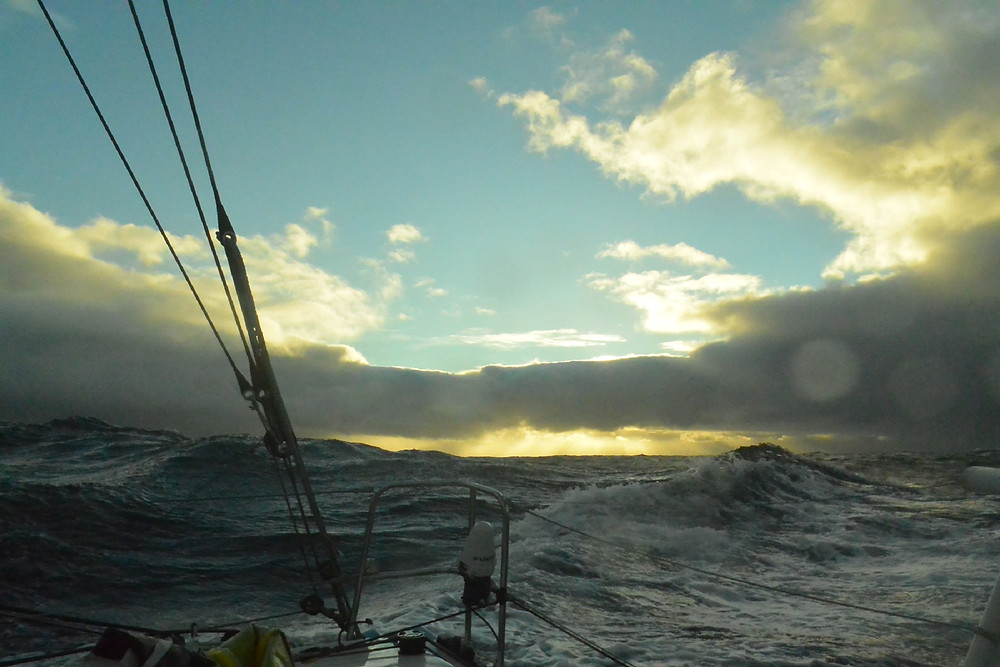 Southern Ocean entering the Pacific © Foresight Natural Energy/ Conrad Colman #vendée globe