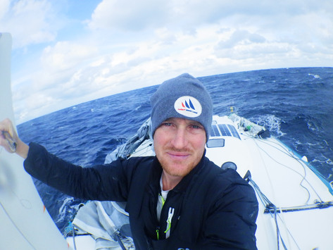 Update day 97: dismasted but still motivated