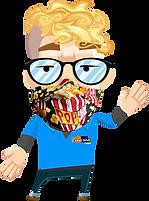 Apporter-votre-masque-marionette-popcorn