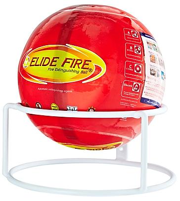 Boule extincteur elide fire sur support