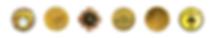 Prémios 6 medalhas