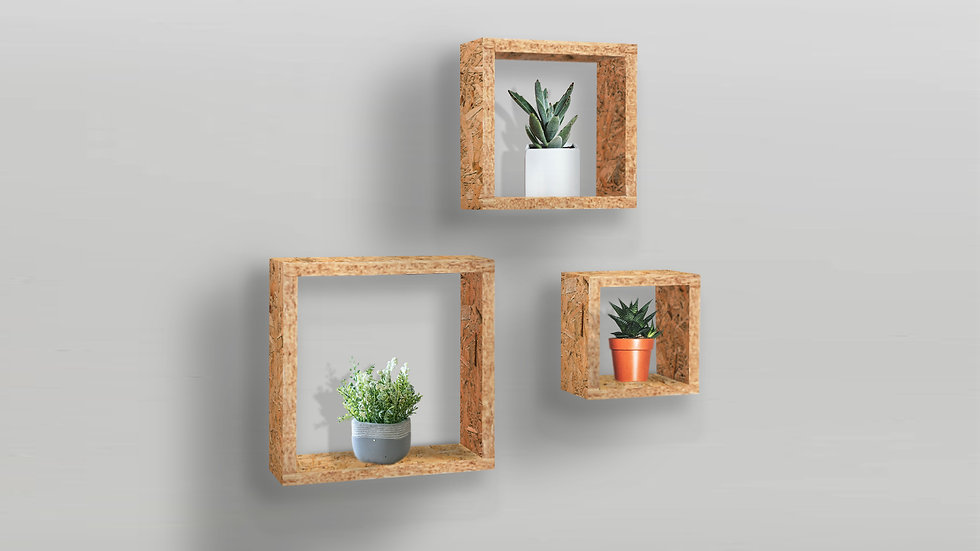 Square Shelf Set