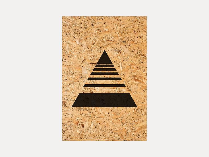 Horizontal Lines Triangle