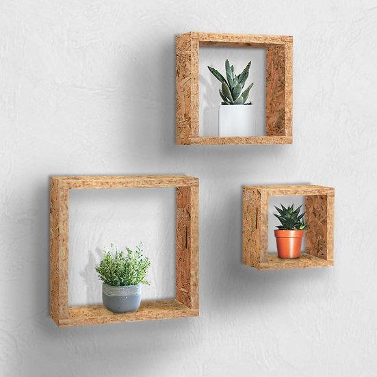 Square Shelf Set