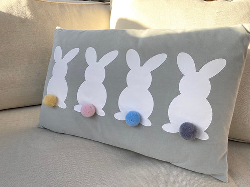 Bunny Blue Cushion