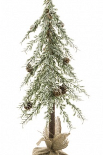 Iced Angel Pine Tree 60cm