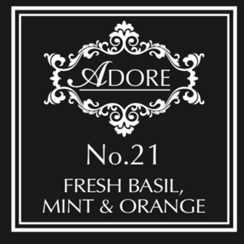 No 21. Fresh Basil, Mint & Orange Diffuser