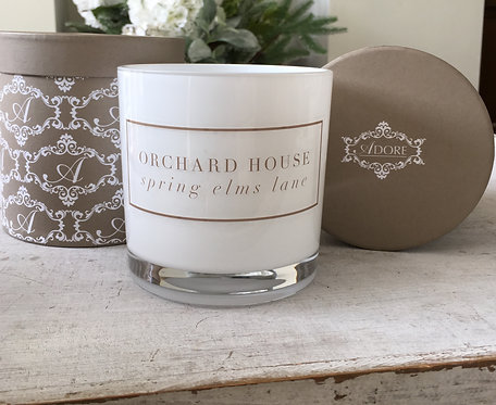 PERSONALISED 'HOUSE' CANDLE