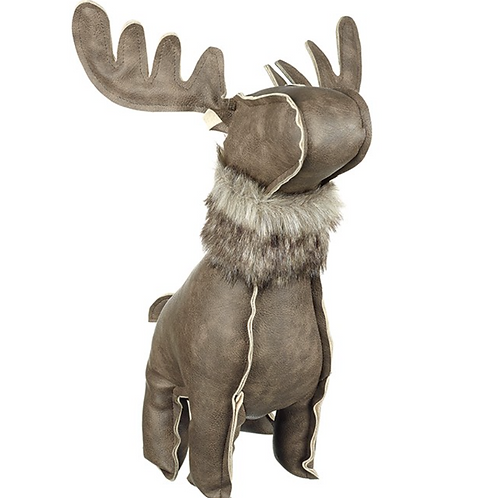 Faux Leather Moose