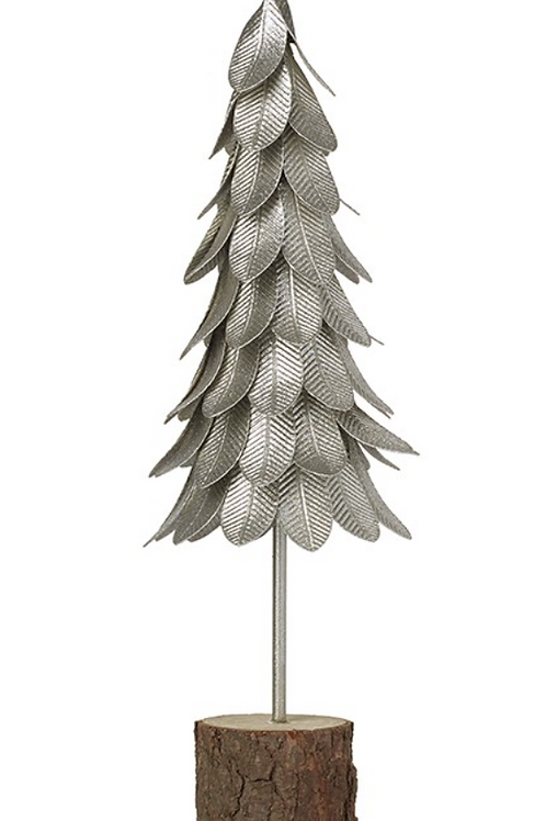 Silver Metal Tree