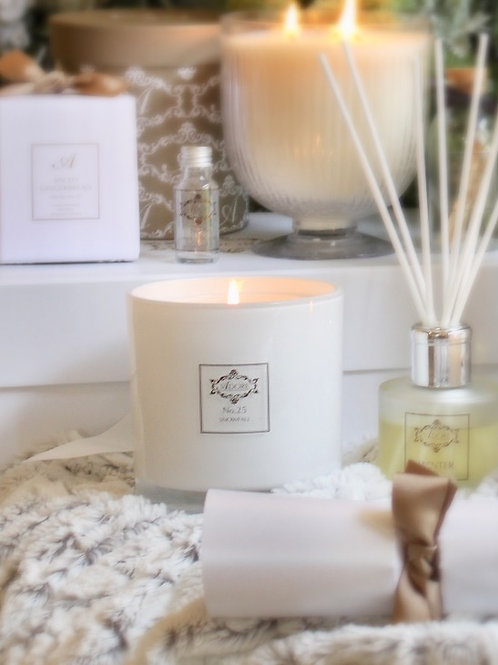 2 Wick Natural Soy Candle 750g
