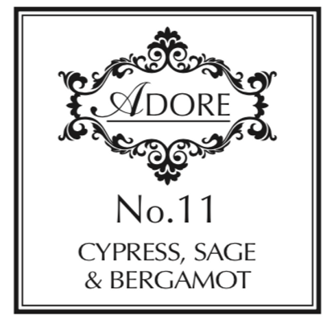 No 11. Cypress, Sage & Bergamot Candle