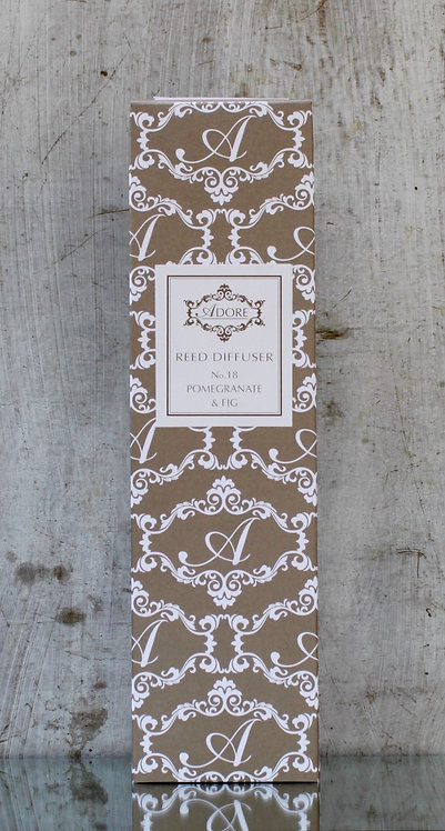 No.18 POMEGRANATE & FIG - REED DIFFUSER