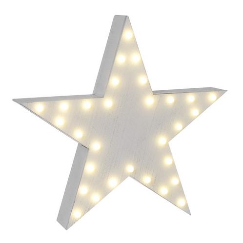 White LED Star