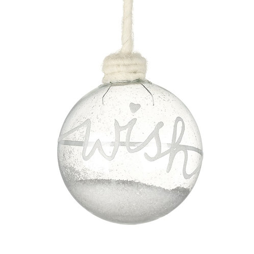 'Wish' Bauble