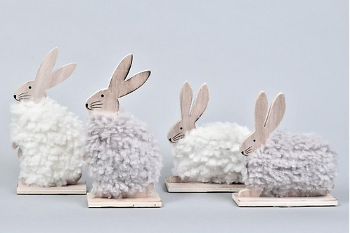 A Pair of Fluffy Hare